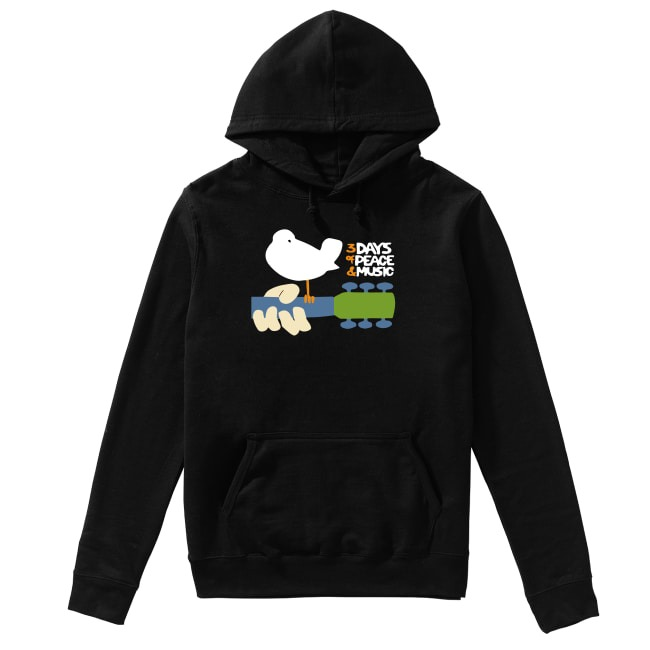 Woodstock 3 Days of Peace and Music Hoodie