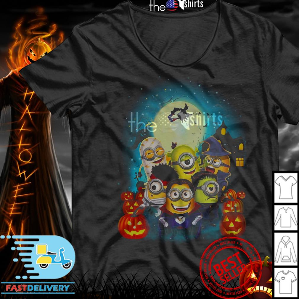 Minions Happy Halloween shirt