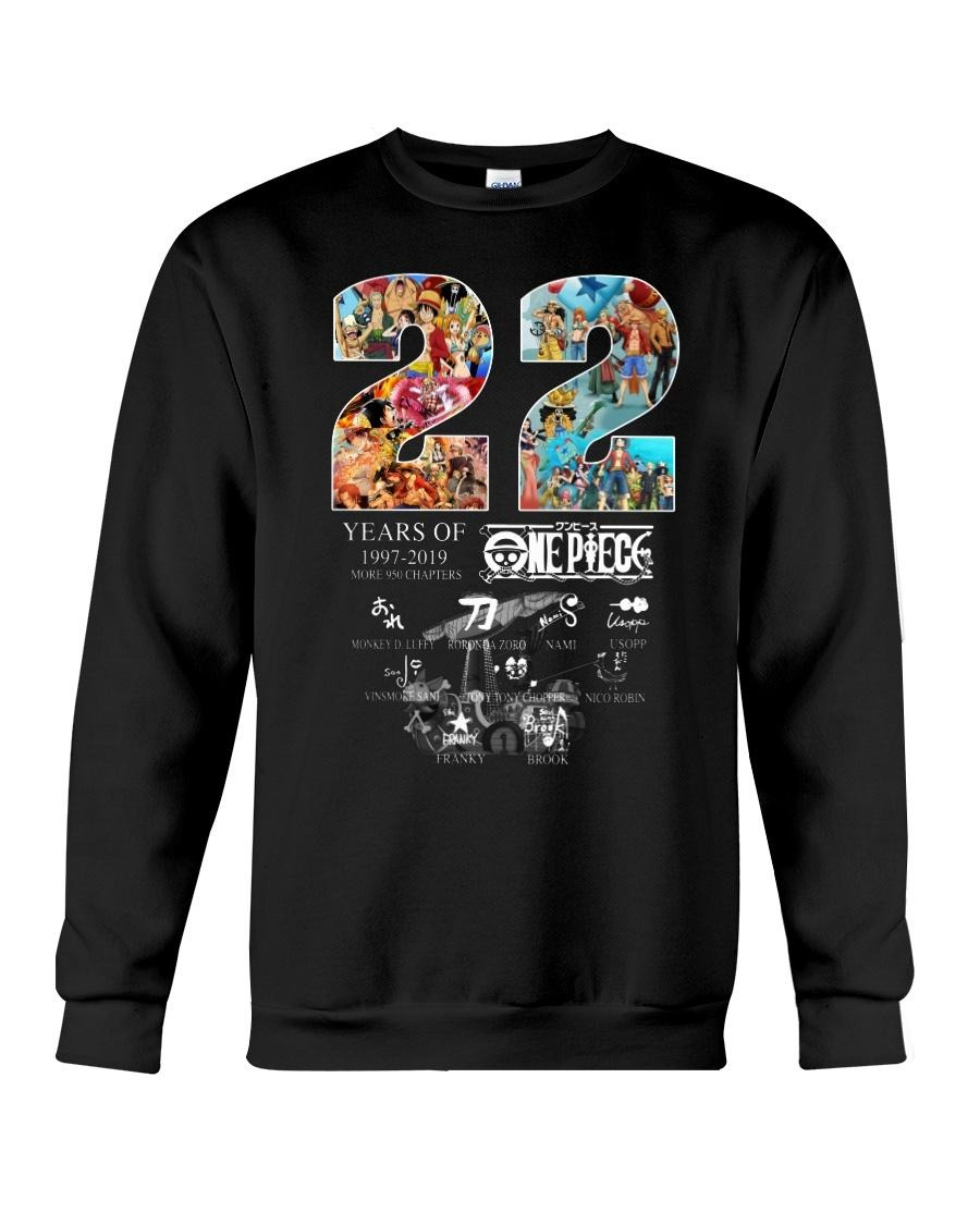 22 Years of One Piece 1997-2019 more 950 chapters signatures Sweater