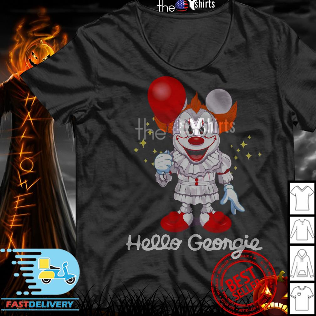 Mickey Pennywise Hello Georgie shirt