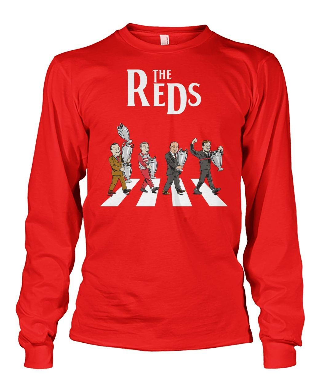 Abbey Road The Reds Liverpool FC Longsleeve Tee