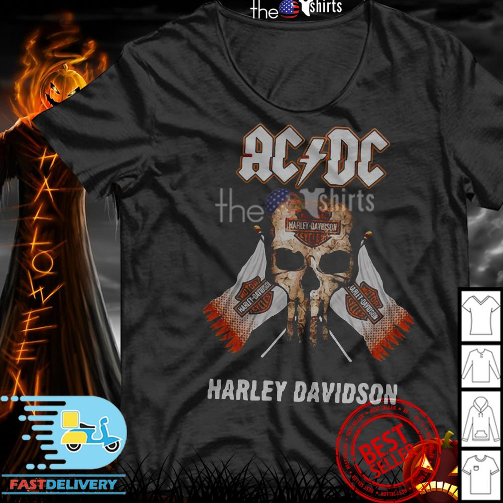 AC/DC Harley Davidson Motorcycle shirt