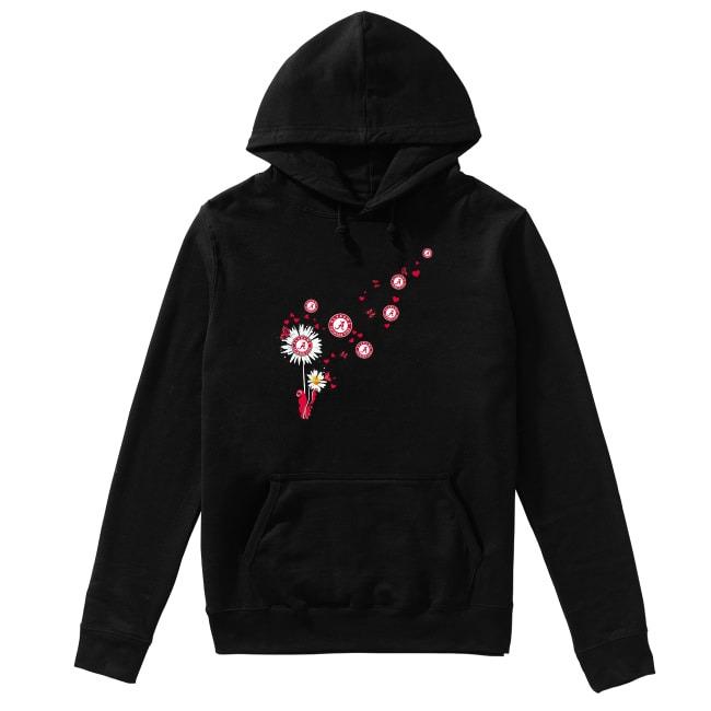 Alabama Crimson Tide dandelion flower Hoodie