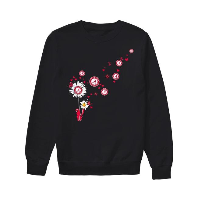 Alabama Crimson Tide dandelion flower Sweater