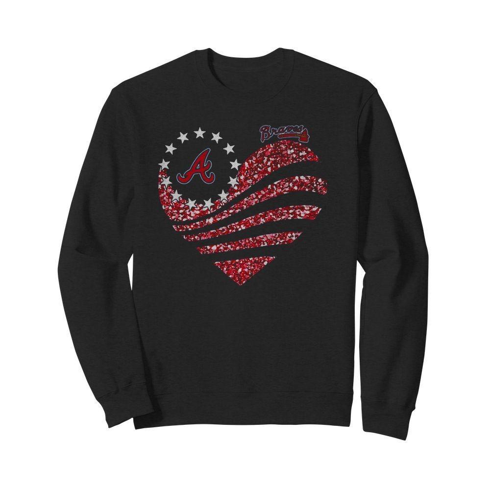 Atlanta Braves Betsy Ross Flag Sweater