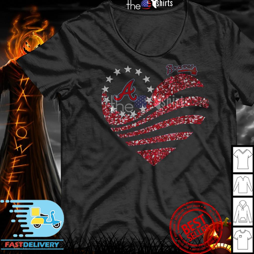 Atlanta Braves Betsy Ross Flag shirt