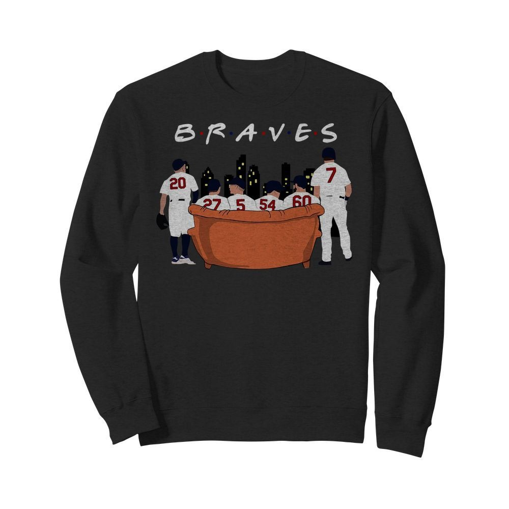 Atlanta Braves Friends TV show Sweater