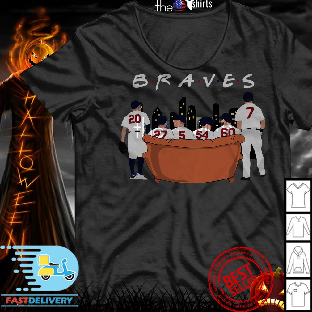 Atlanta Braves Friends TV show shirt