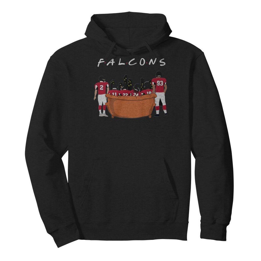 Atlanta Falcons Friends TV Show Hoodie