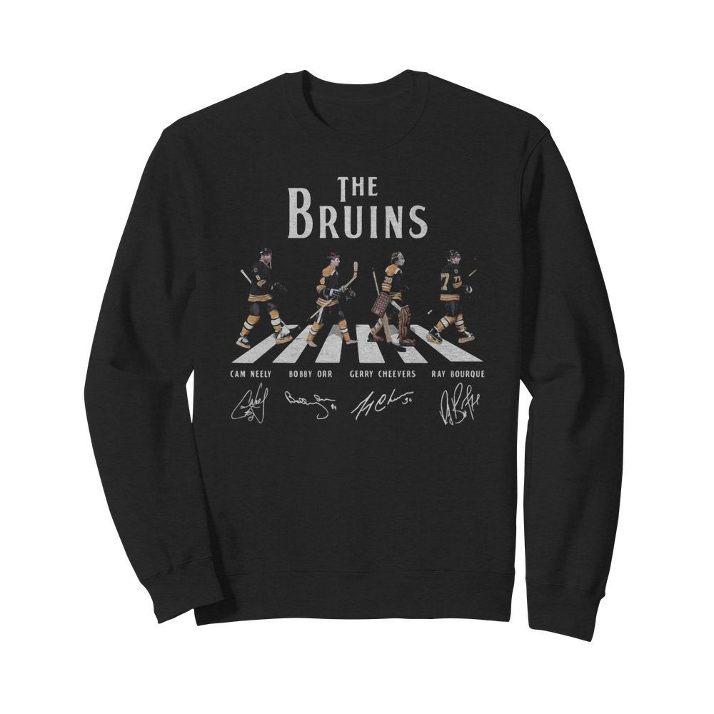 Boston Bruins The Bruins Abbey Road signatures shirt