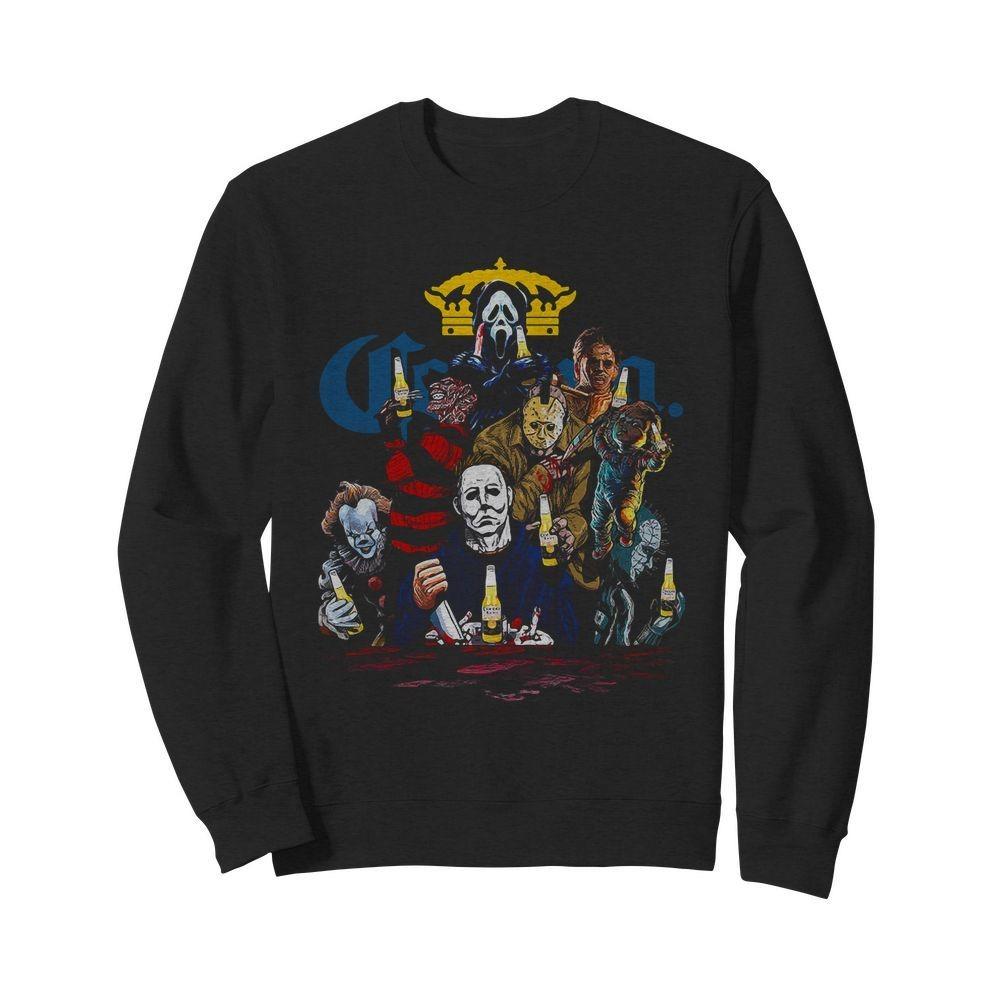 Corona horror movies characters Sweater