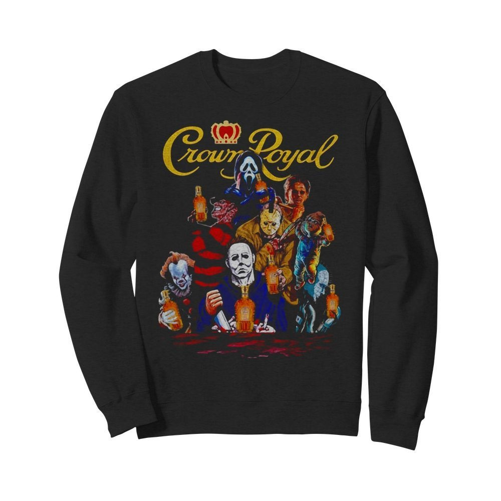 Crown Royal horror characters movie Sweater