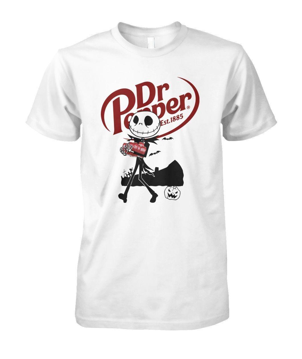 Dr. Pepper Jack Skellington est 1885 shirt