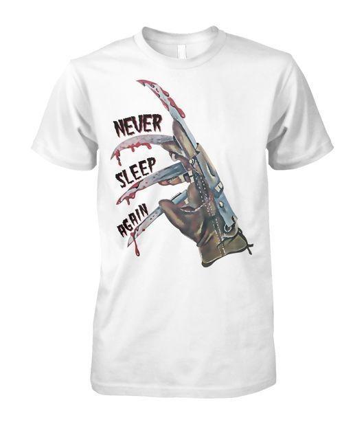 Freddy Krueger never sleep again shirt