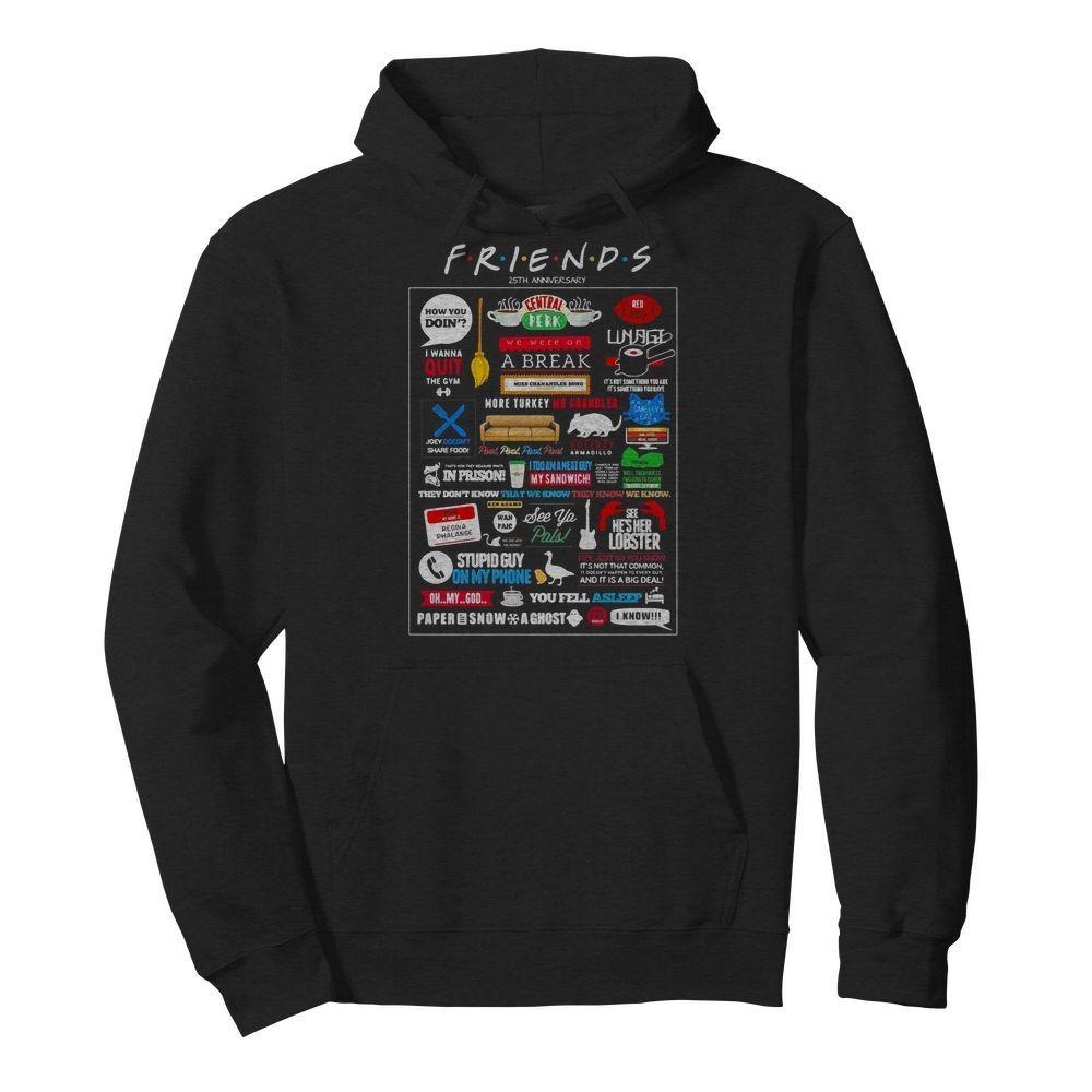Friends TV Show Merchandise Hoodie