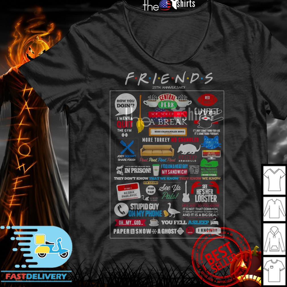 Friends TV Show Merchandise shirt