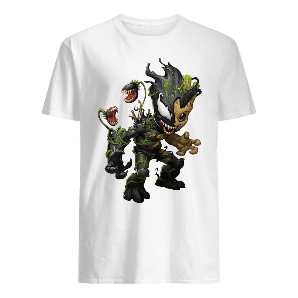 Groot Venom mashup shirt