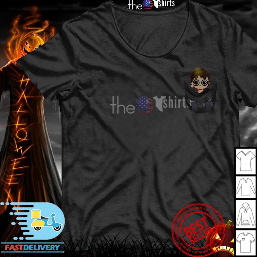 Harry Potter Chibi in the pocket shirt