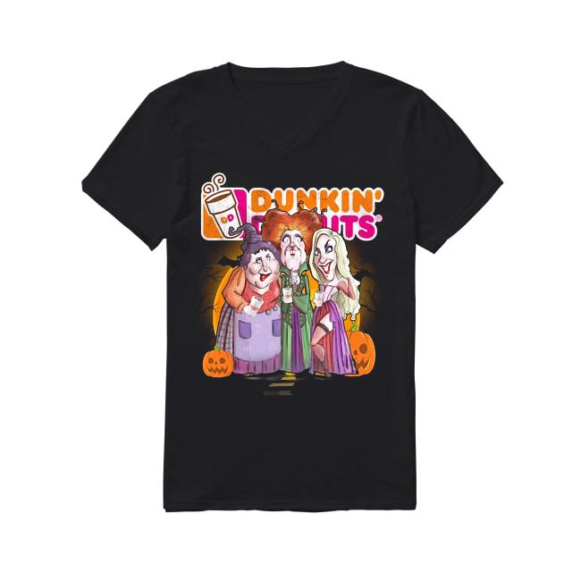 Hocus Pocus Dunkin' Donuts V-neck T-shirt