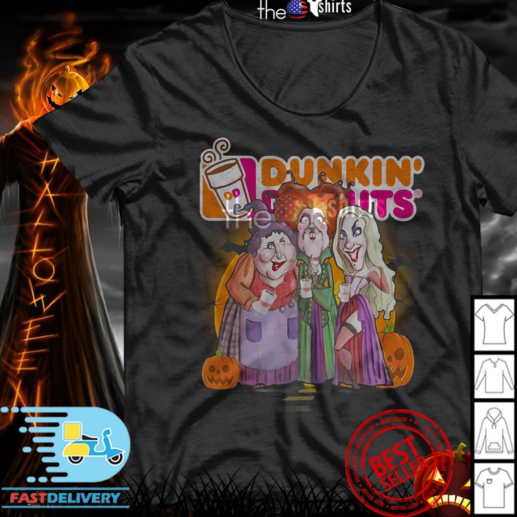 Hocus Pocus Dunkin' Donuts shirt