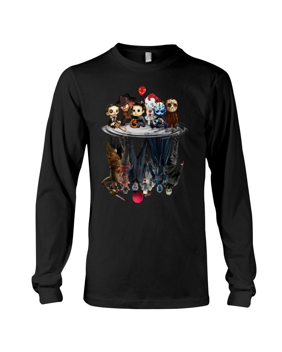 Horror movie characters water mirror reflection Sweater