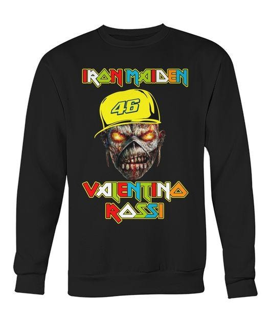 Iron Maiden Valentino Rossi Sweater
