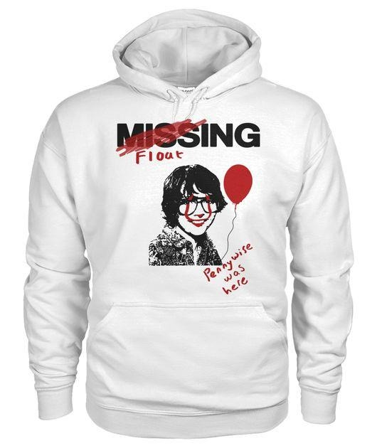 IT 2017 Movie Missing Richie Tozier Pennywise was here Hoodie