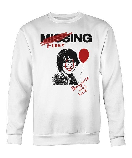 IT 2017 Movie Missing Richie Tozier Pennywise was here Sweater