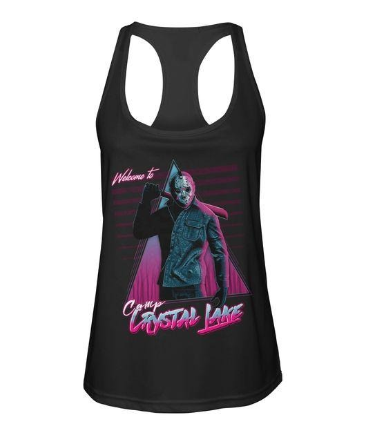 Jason Voorhees welcome to camp crystal lake Tank top