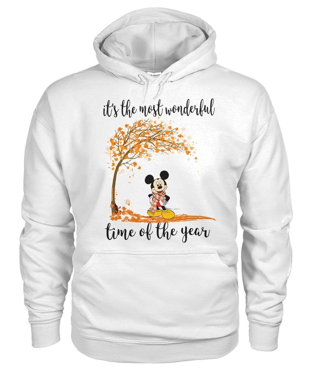 Mickey Mouse it's the most wonderful time of year Hoodie