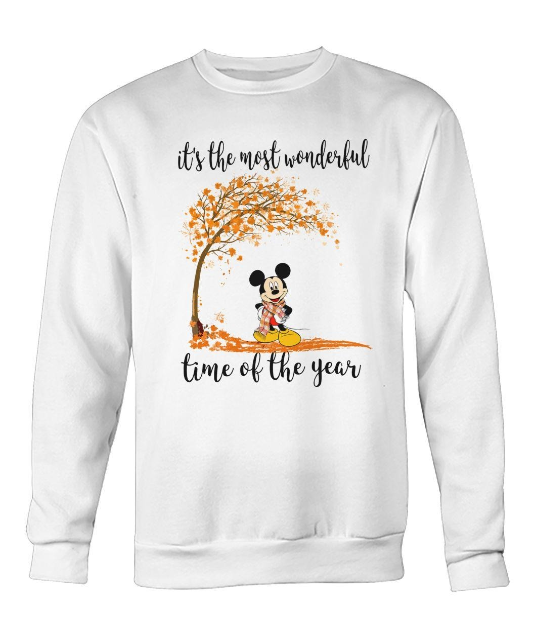 Mickey Mouse it's the most wonderful time of year Sweater