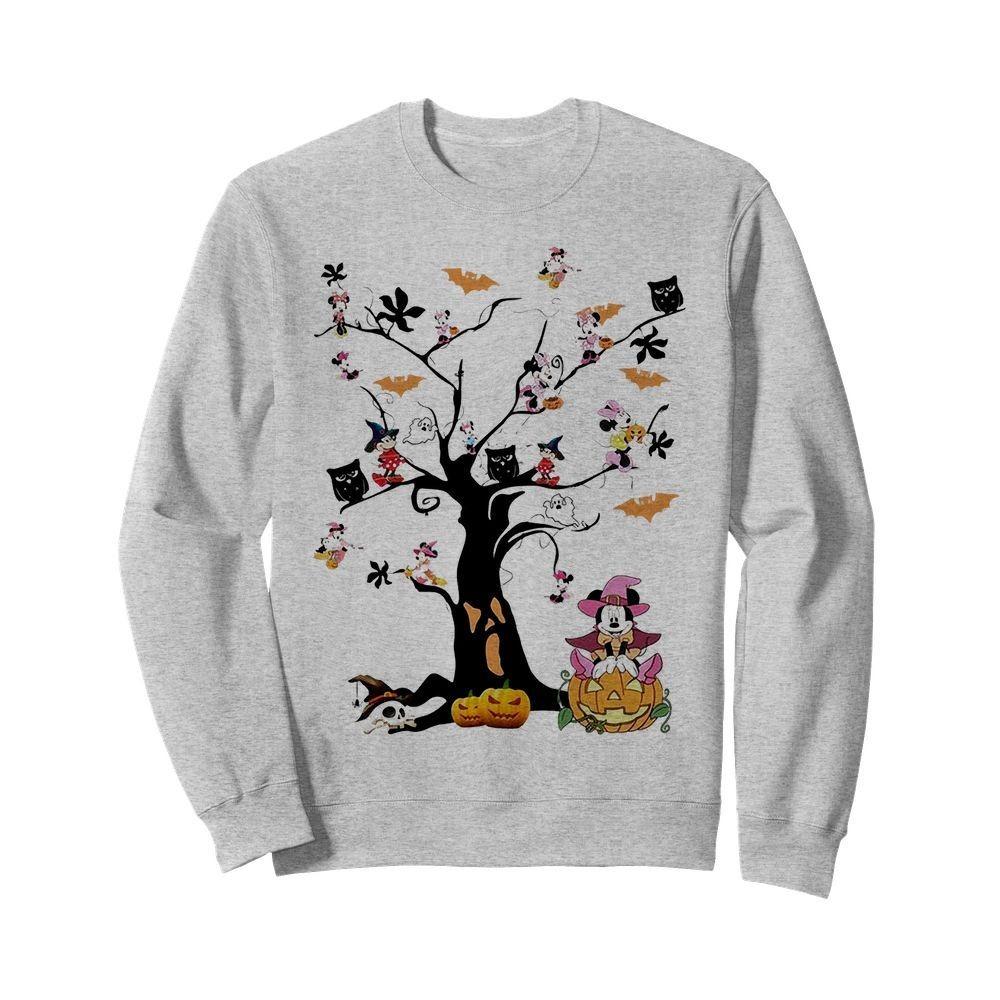 Mickey Mouse tree Halloween Sweater