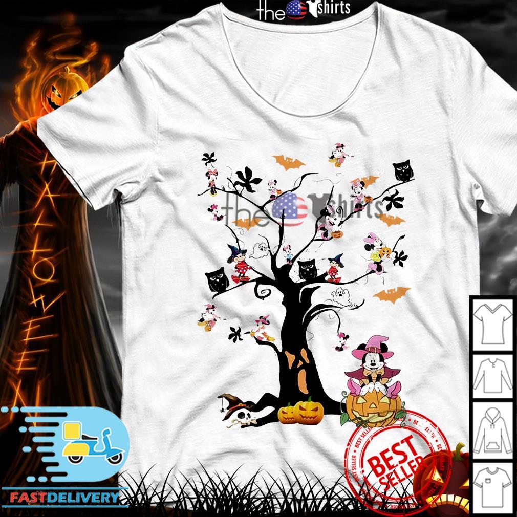 Mickey Mouse tree Halloween shirt