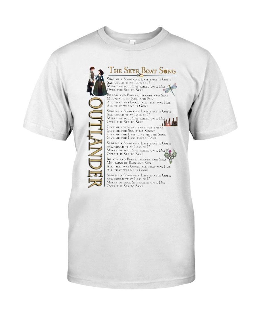 Outlander the Skye boat song shirt