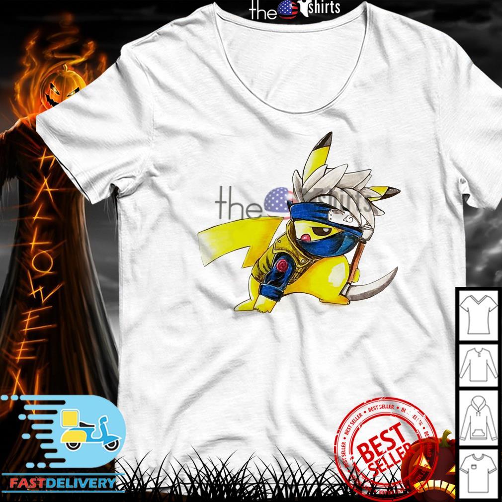 Pikachu Hatake Kakashi shirt