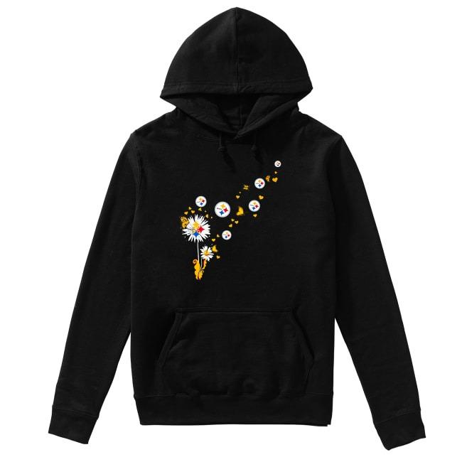 Pittsburgh Steelers dandelion flower Hoodie