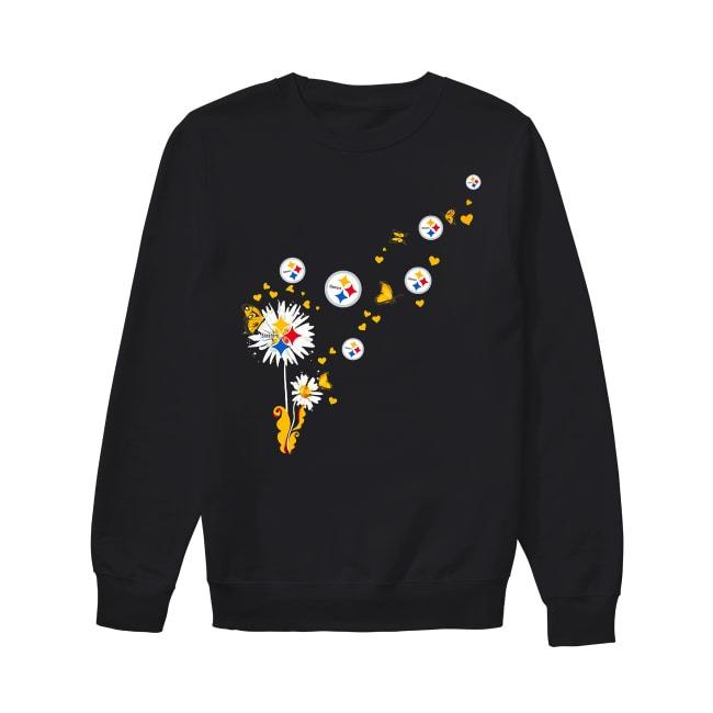 Pittsburgh Steelers dandelion flower Sweater