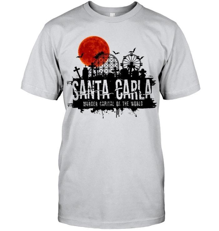 Santa Carla murder capital of the world sunset shirt