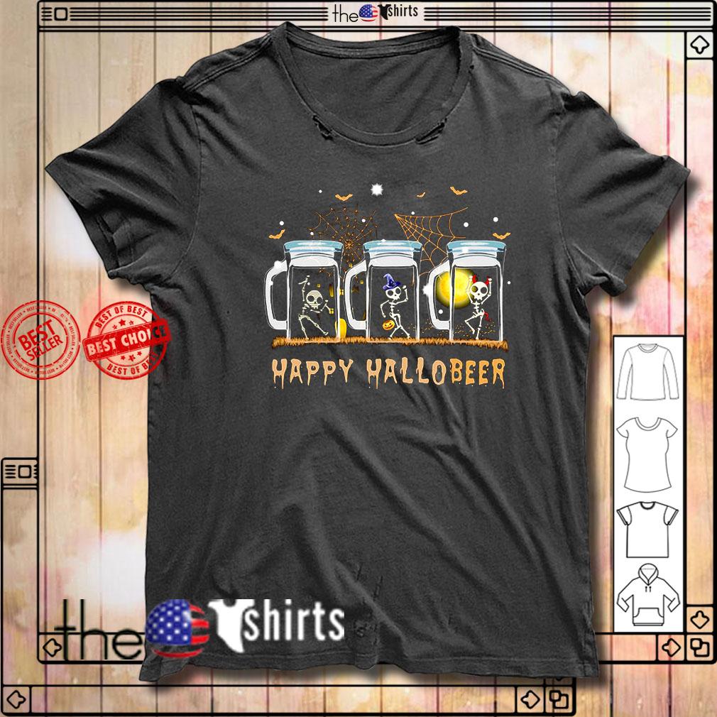 Skeleton dance happy Hallobeer shirt