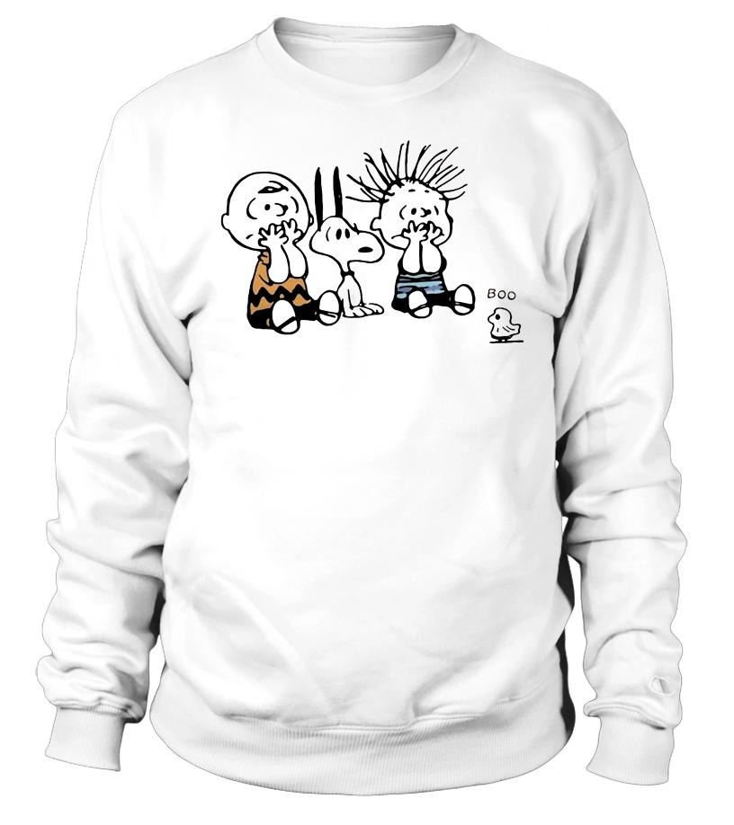 Snoopy and Charlie Brown Boo ghost Sweater