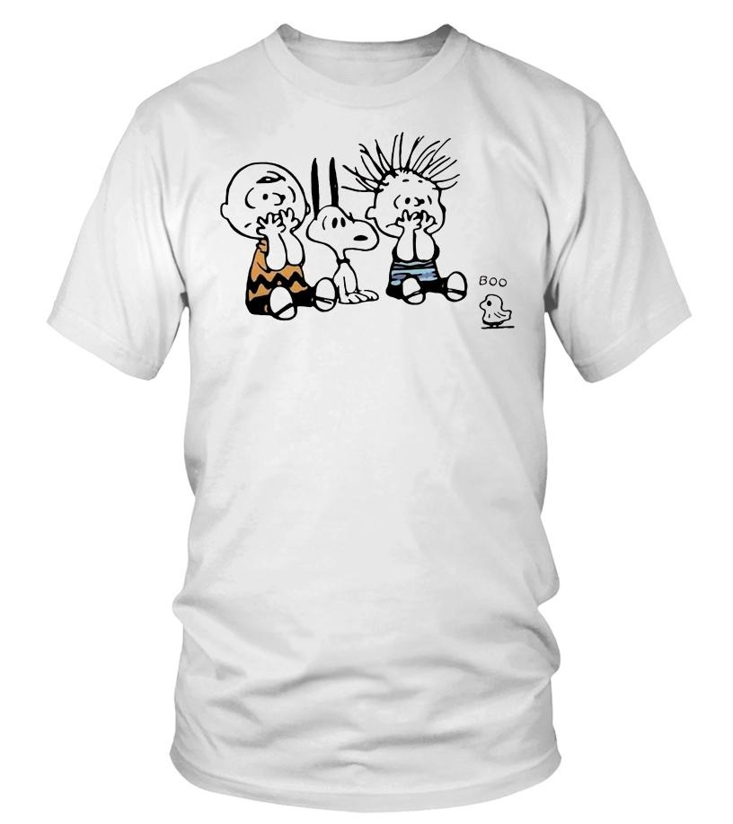 Snoopy and Charlie Brown Boo ghost shirt