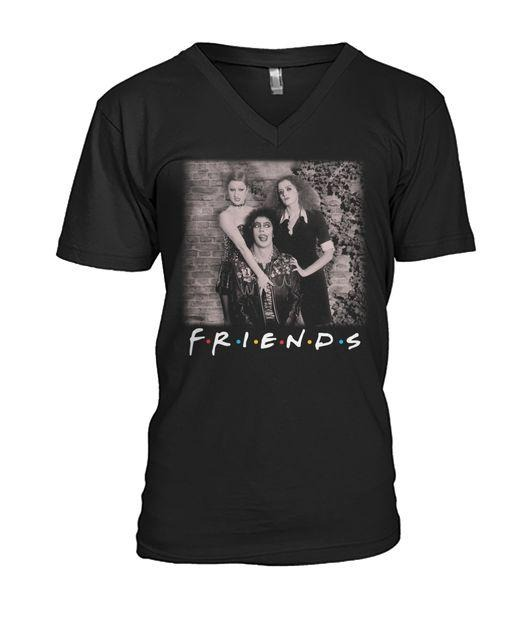The Rocky Horror Picture Show Friends TV Show V-neck T-shirt