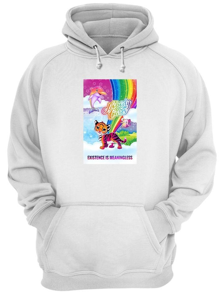Tiger nobody cares existence meaningless Hoodie
