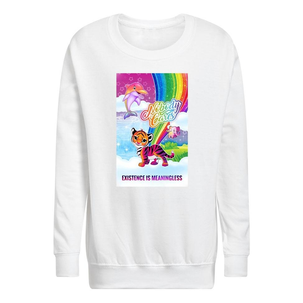 Tiger nobody cares existence meaningless Sweater