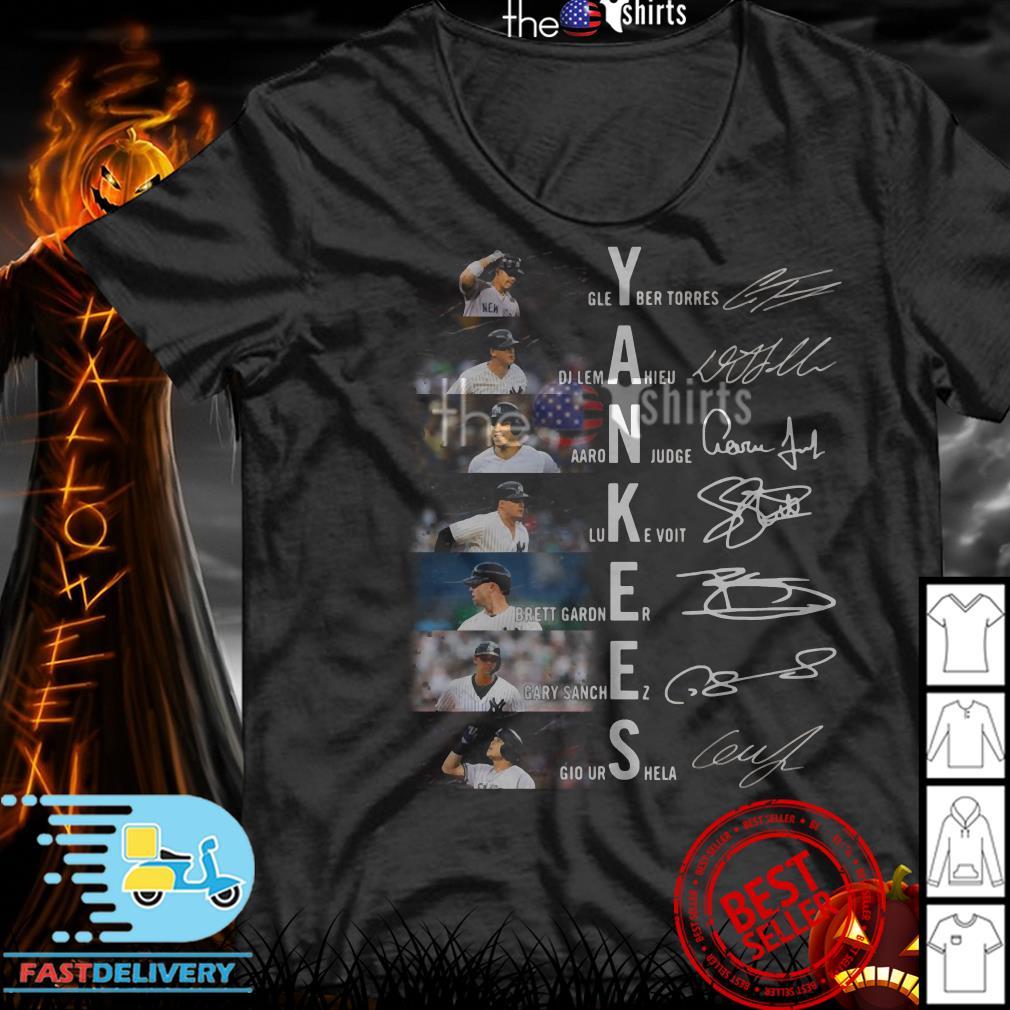 Yankees Gleyber Torres DJ Lemahieu AaroN judge Luke Voit shirt