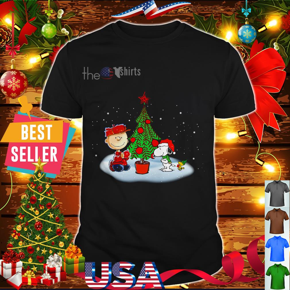 When Is Charlie Brown Christmas On.A Charlie Brown Christmas With Snoopy And Woodstock Shirt