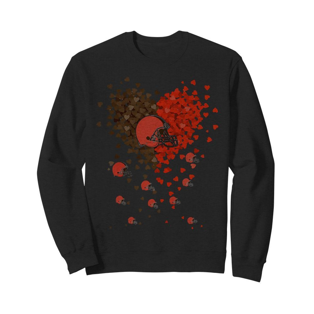 Heart  Love Cleveland Browns  my heart Sweater