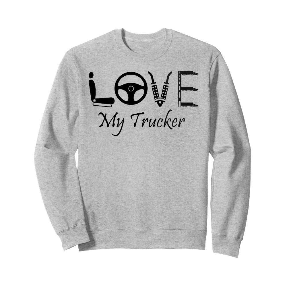Love My Trucker Sweater