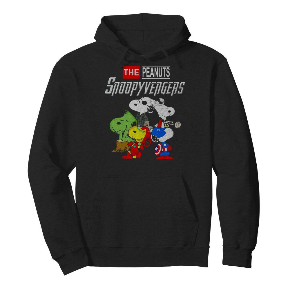 Marvel Avengers Endgame the peanuts snoopy Avengers Hoodie