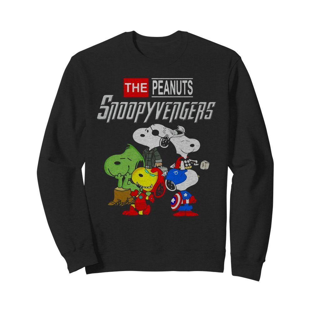 Marvel Avengers Endgame the peanuts snoopy Avengers Sweater